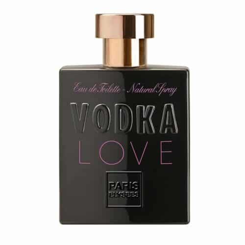 Perfume Vodka Love Toilette 100ml frasco vidro contratipo do Midnight Fantasy de Britney Spears
