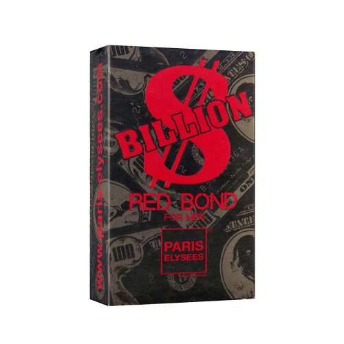 Embalagem Billion Red Bond