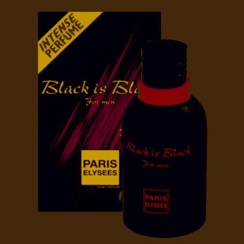 Black is Black perfume masculino Paris Elysees