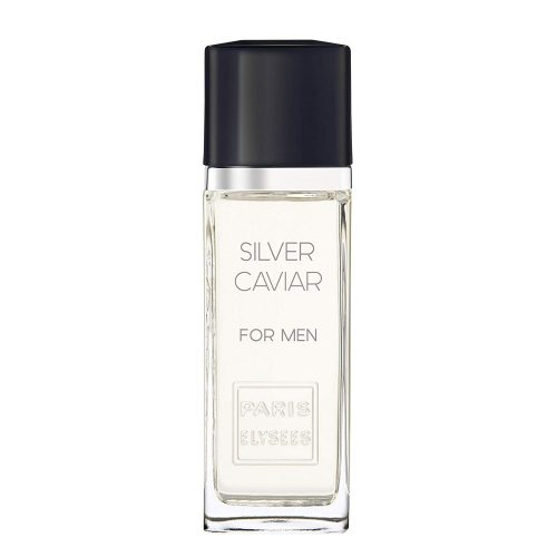 Silver Caviar Paris Elysees perfume Frasco vidro