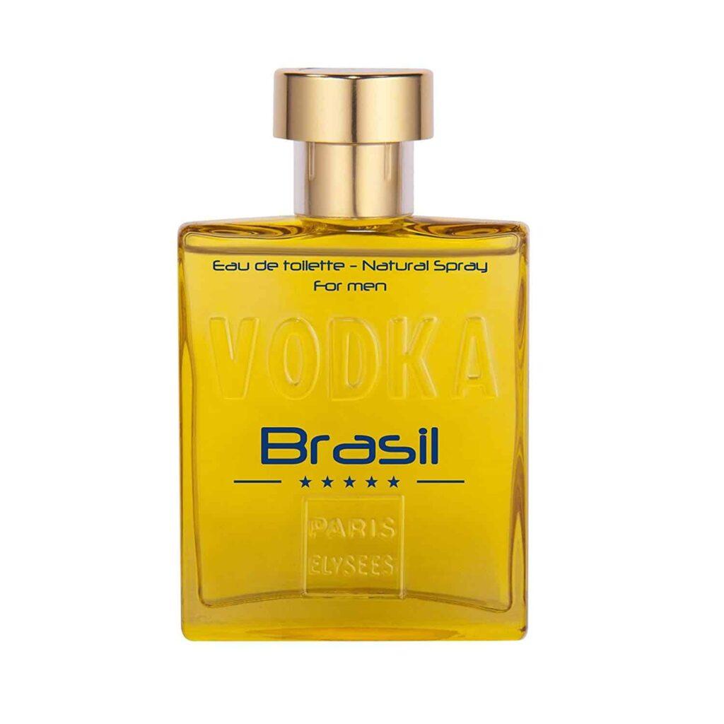 Vodka Brasil Amarelo Paris Elysees Contratipo do Invictus de Pacco Rabanne
