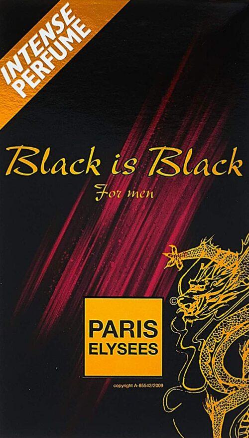 Black is Black paris elysees inspirado
