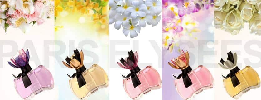 La Petit Fleur Coleção de Perfumes da Paris Elysees