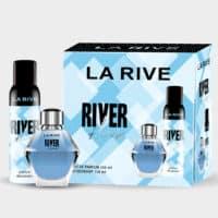 Kit Rive of Love da La Rive, Contém 1 Perfume de 100 ml + 1 desodorante de 150 ml, contratipo do Angel