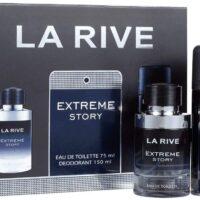 Kit Extreme Story La Rive, Contém 1 Perfume de 75ml + 1 Desodorante de 150ml, Contratipo do Sauvage