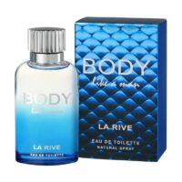 Body Like a Man da La Rive, perfume masculino contratipo do Dolce e Gabanna Light Blue